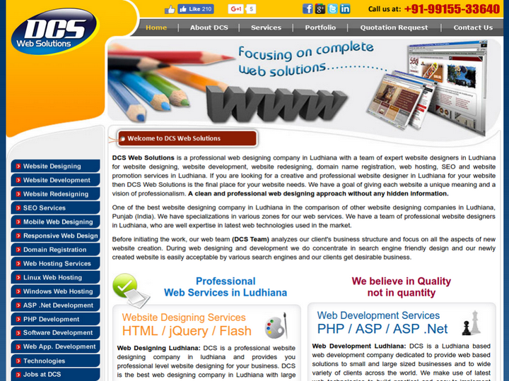 DCS Web Solutions on 10Hostings