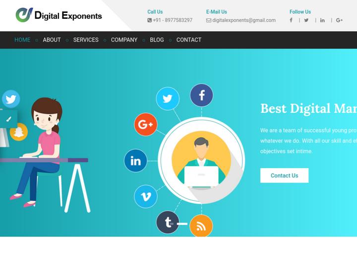 Digital Exponents on 10Hostings