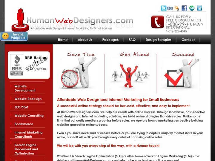 HumanWebDesigners.com on 10Hostings