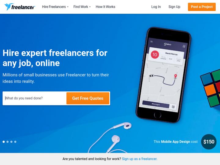 Freelancer on 10Hostings