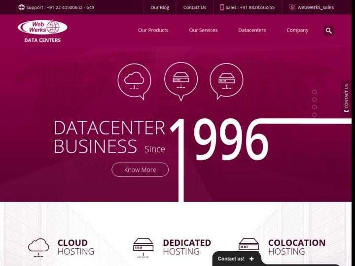 Web Werks Data Centers on 10Hostings