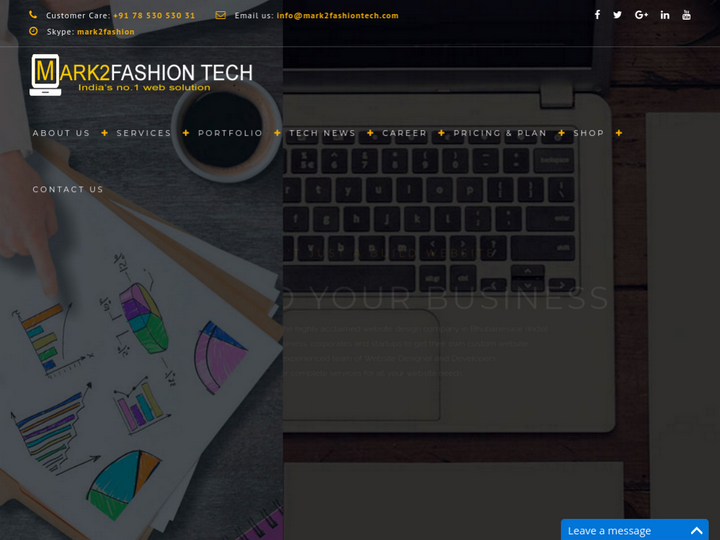 Mark2fashion Tech Web Services on 10Hostings