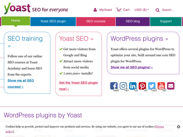 Yoast on 10Hostings
