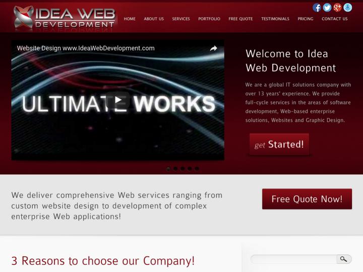 Idea Web Development on 10Hostings