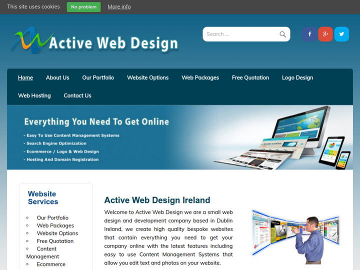 Active Web Design on 10Hostings