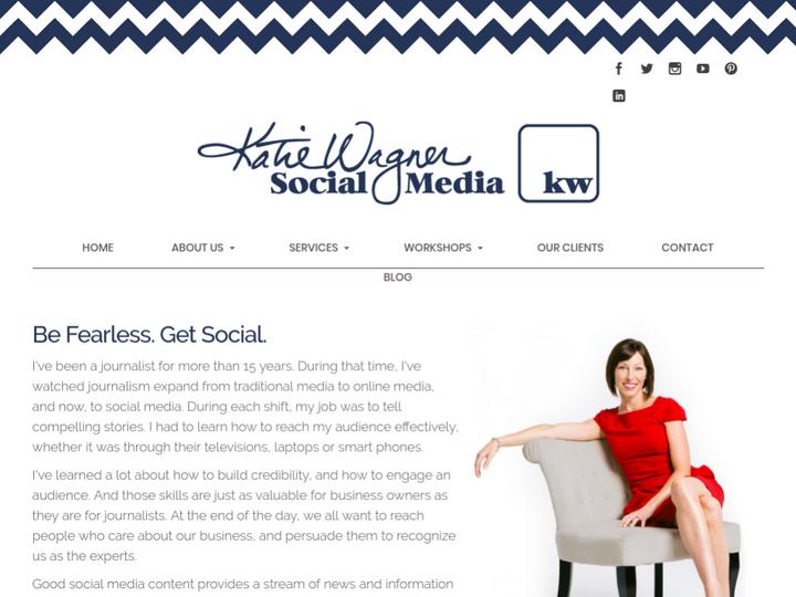 Katie Wagner Social Media on 10Hostings