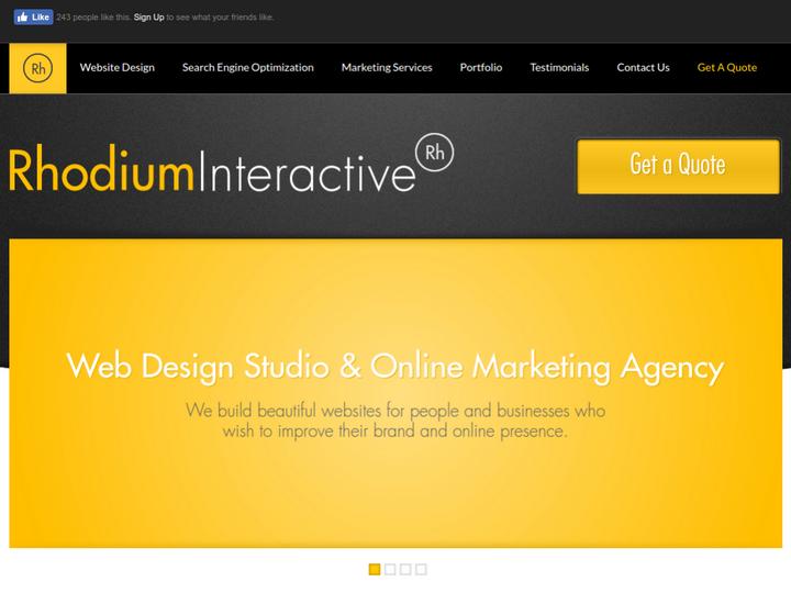 Rhodium Interactive on 10Hostings