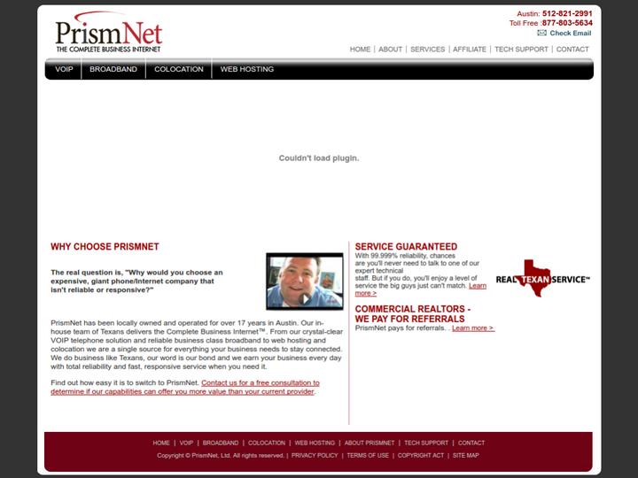 Prism Net on 10Hostings