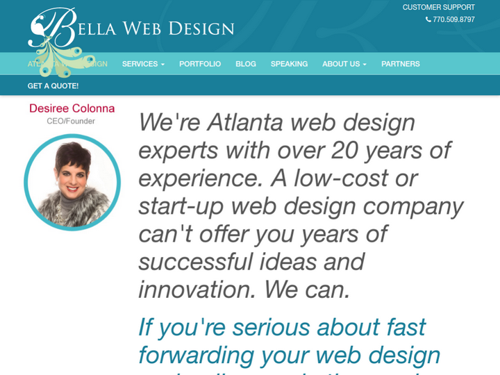 Bella Web Design on 10Hostings