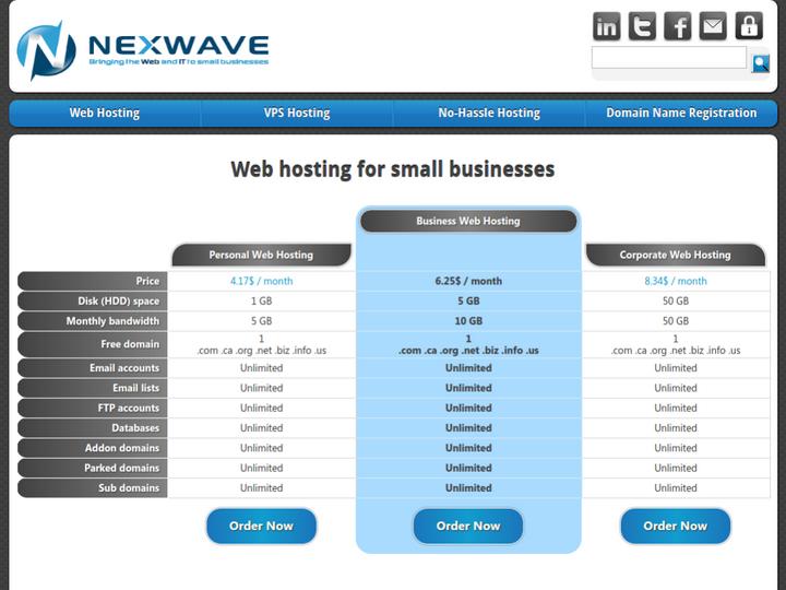 Nexwave on 10Hostings