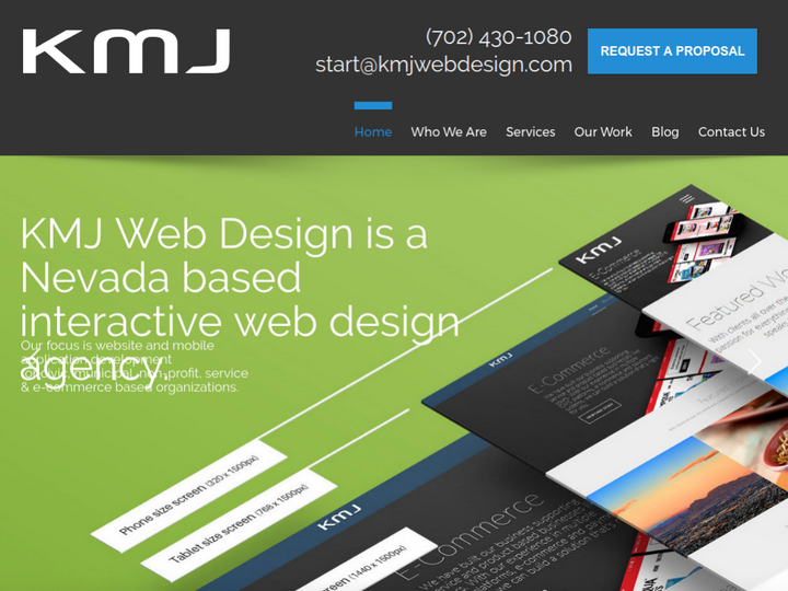 KMJ Web Design on 10Hostings