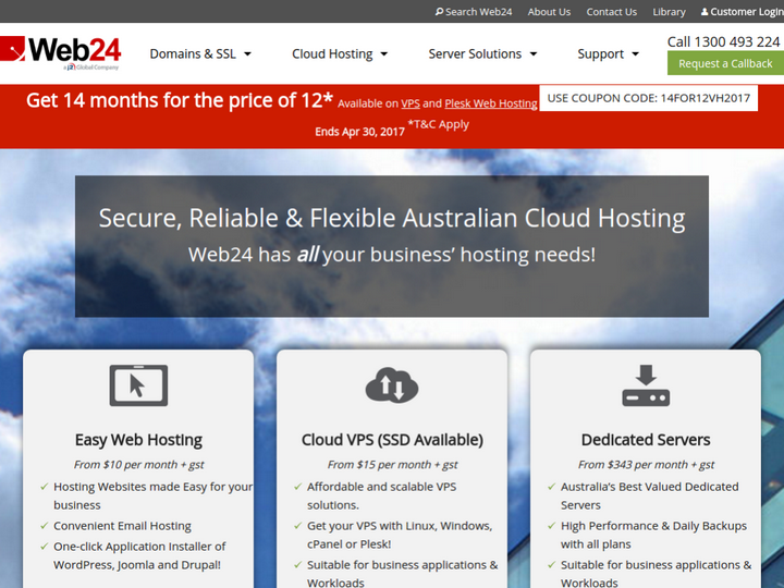 Web 24 on 10Hostings