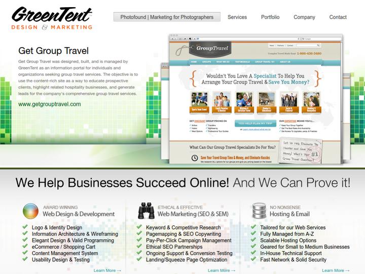 GreenTent Design on 10Hostings