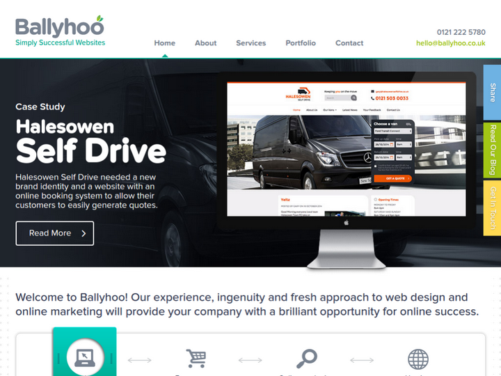 Ballyhoo Ltd on 10Hostings