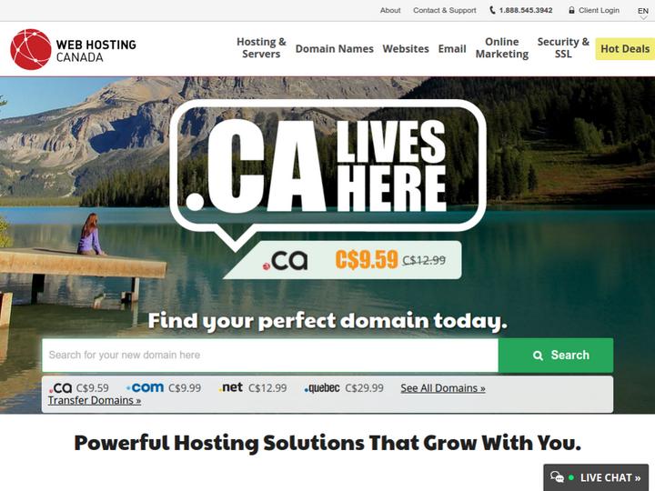 Web Hosting Canada on 10Hostings