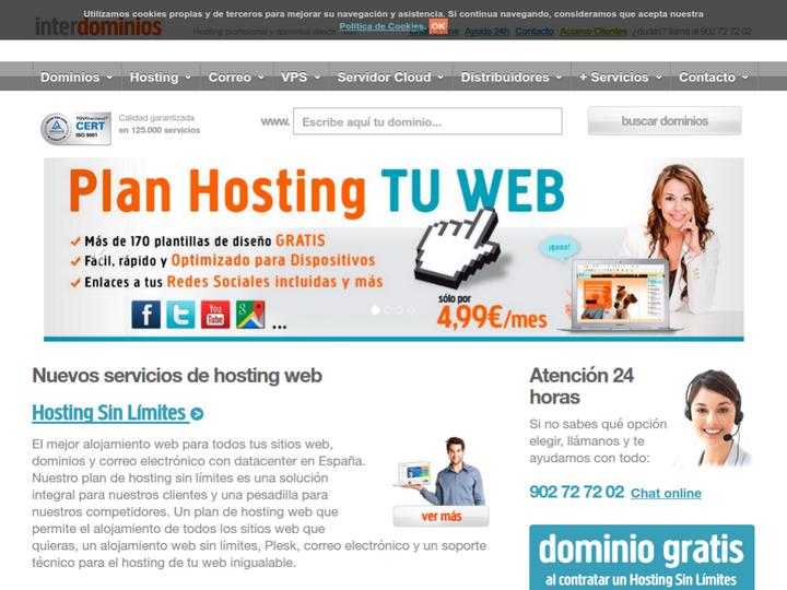 Inter Domain on 10Hostings