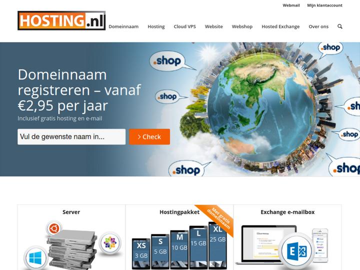 Hosting.nl on 10Hostings