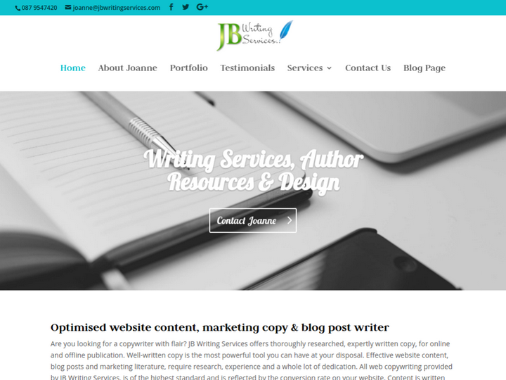 JB Writing Services on 10Hostings
