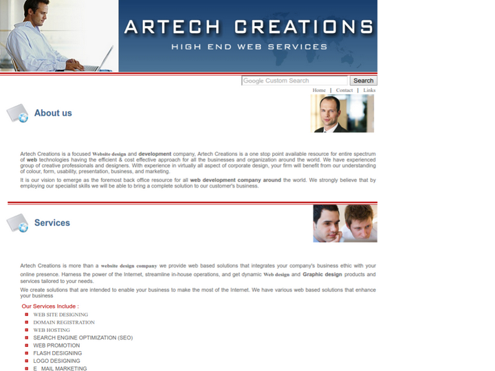 Artech Creations on 10Hostings