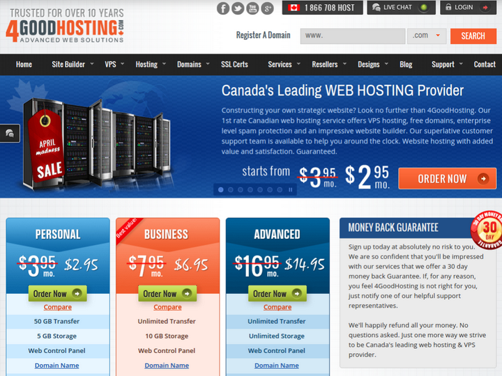 4 Good Hosting on 10Hostings