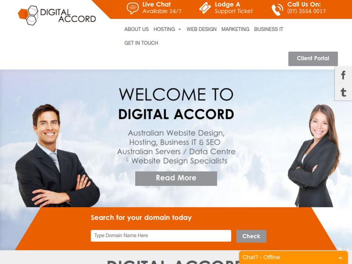 Digital Accord on 10Hostings