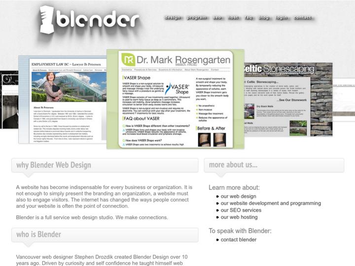 Blender Design on 10Hostings