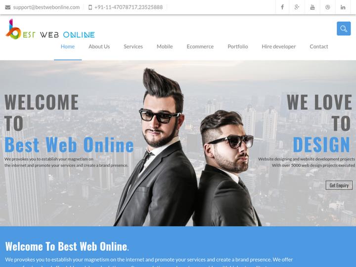 Best Web Online on 10Hostings
