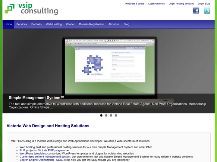 VSIP Consulting on 10Hostings