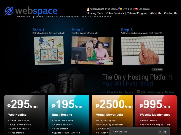 Web Space on 10Hostings