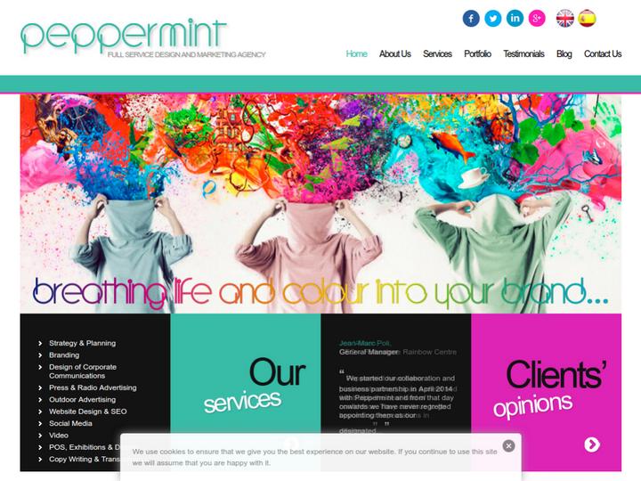 Peppermint Create on 10Hostings