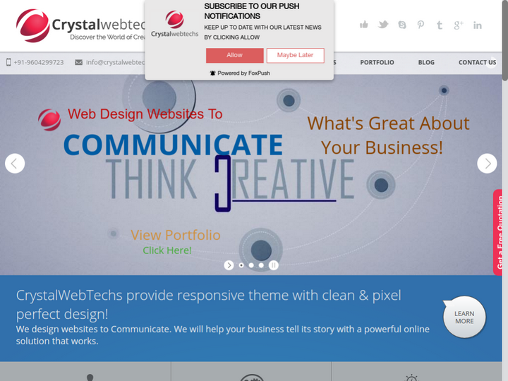 Crystal Web Techs on 10Hostings