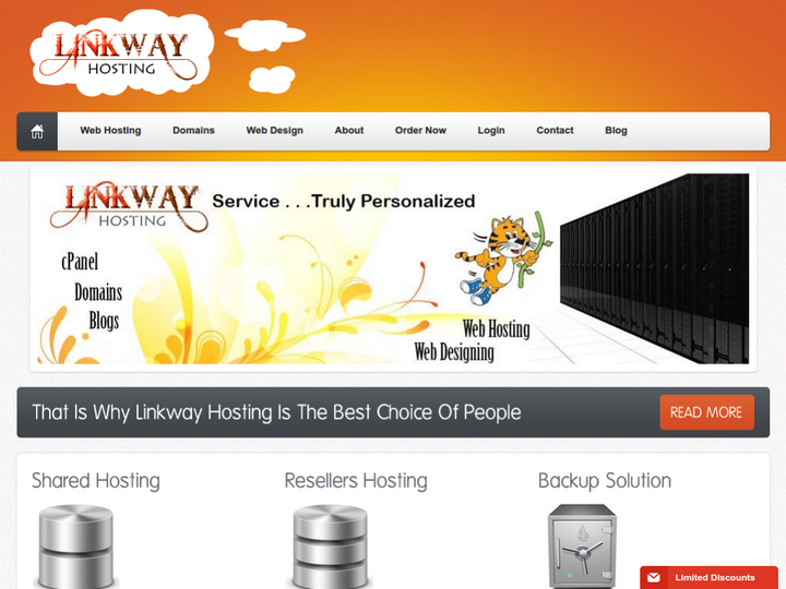 Linkway Hosting on 10Hostings