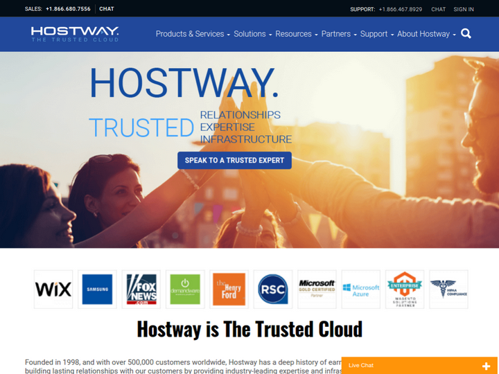 Hostway Services on 10Hostings
