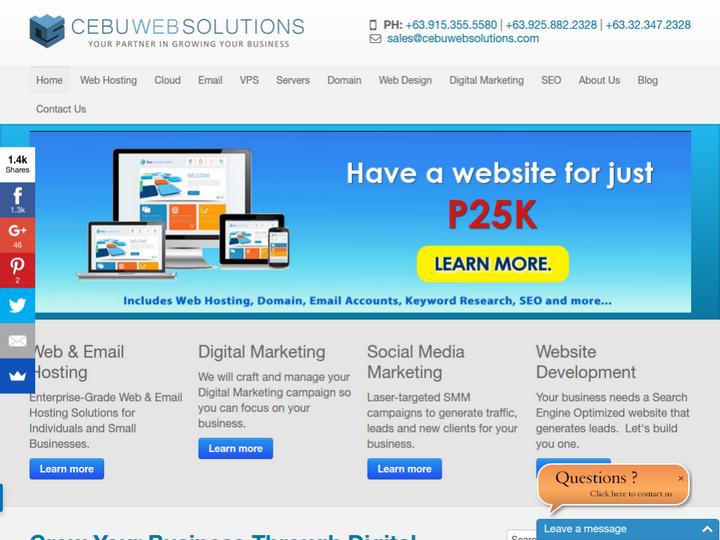 Cebu Web Solutions on 10Hostings