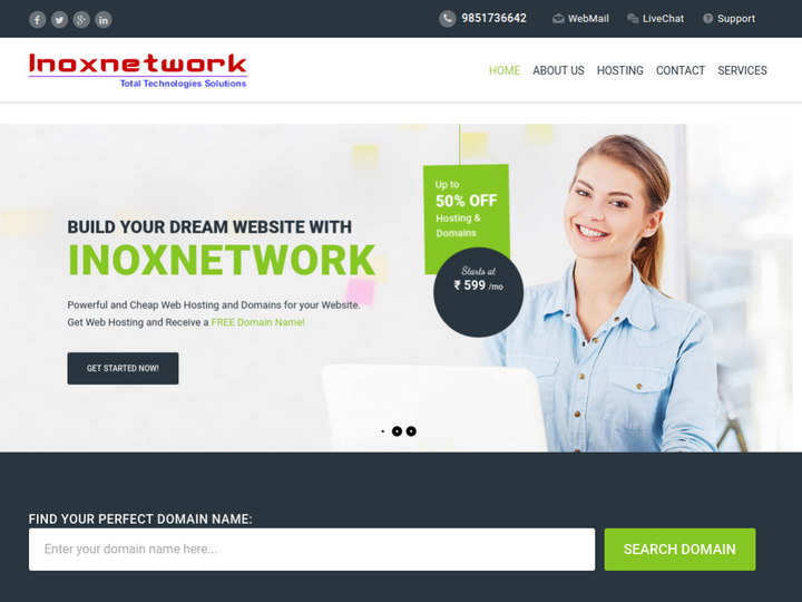 Inoxnet Work on 10Hostings