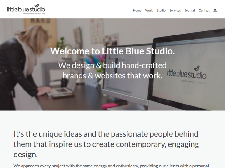 Little Blue Studio on 10Hostings