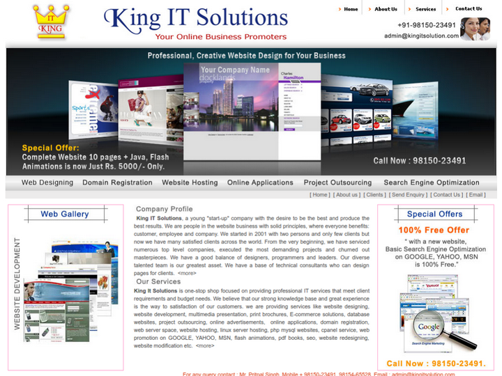 King It Solutions on 10Hostings