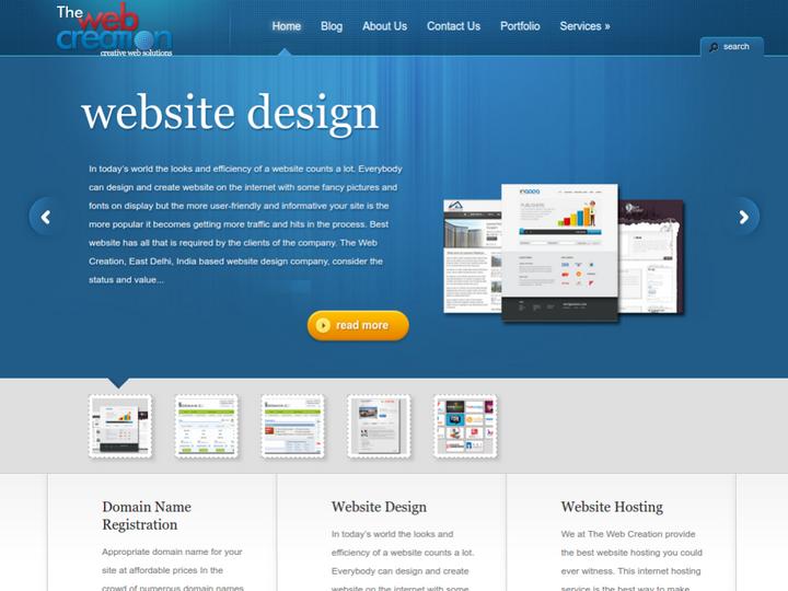 The Web Creation on 10Hostings