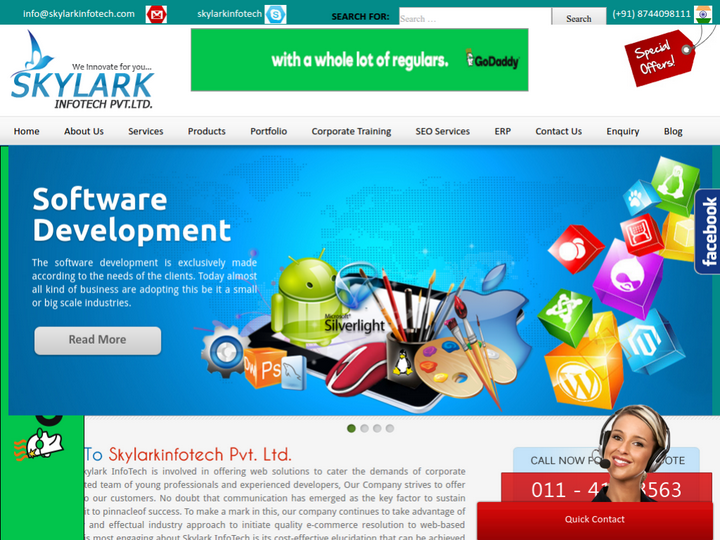 Skylark Infotech on 10Hostings