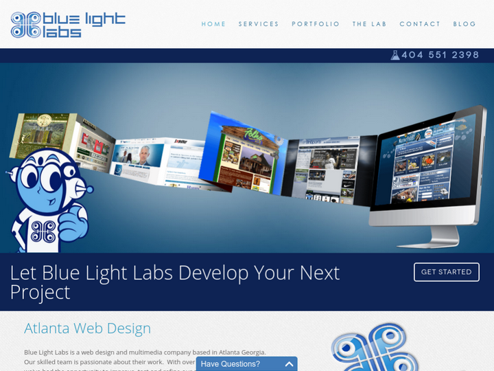 Blue Light Labs on 10Hostings