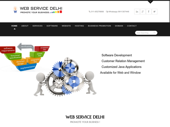 Web service Delhi on 10Hostings