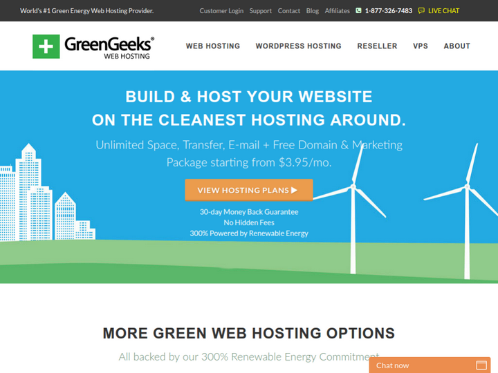 Green Geeks on 10Hostings
