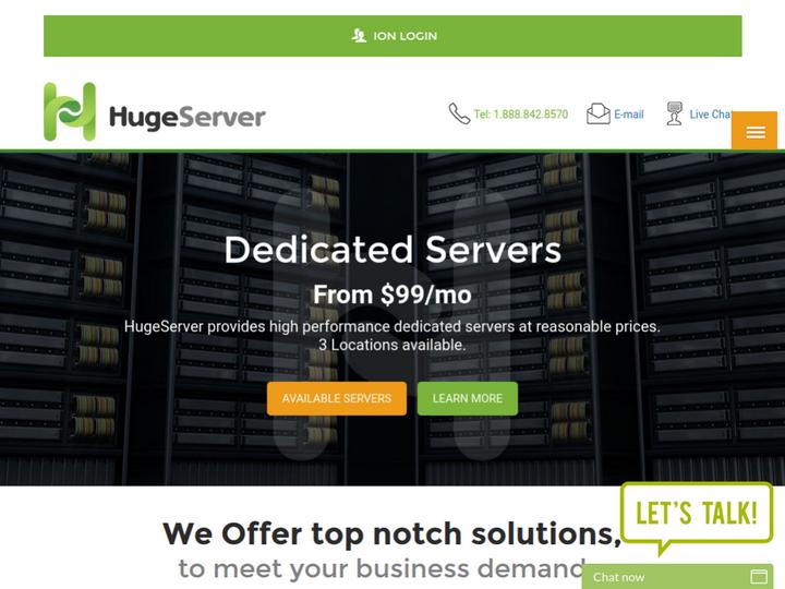 Huge Server on 10Hostings