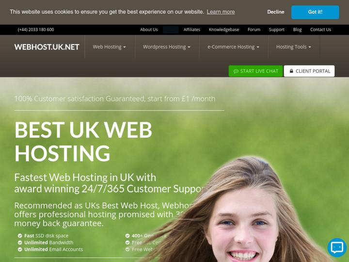 WebhostUK LTD on 10Hostings
