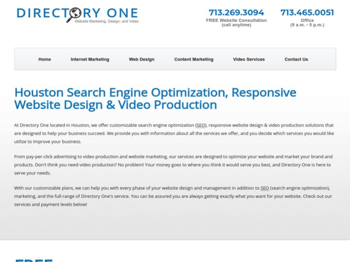 Directory One, Inc. on 10Hostings