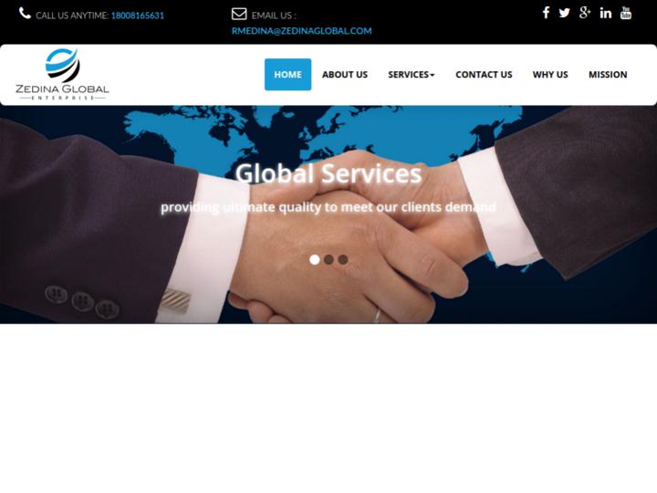 ZEDINA GLOBAL ENTERPRISE LLC on 10Hostings