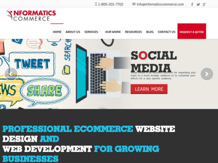Informatics Commerce Inc on 10Hostings