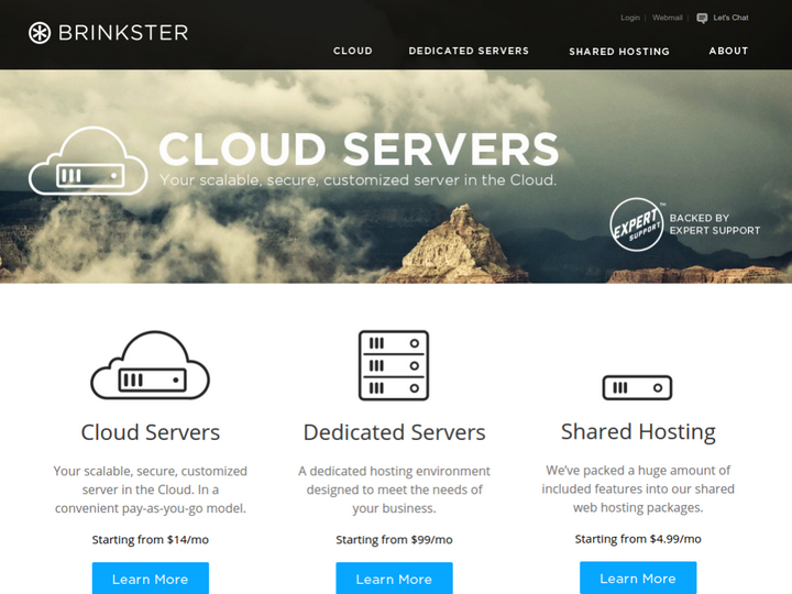 Brinkster Communications on 10Hostings