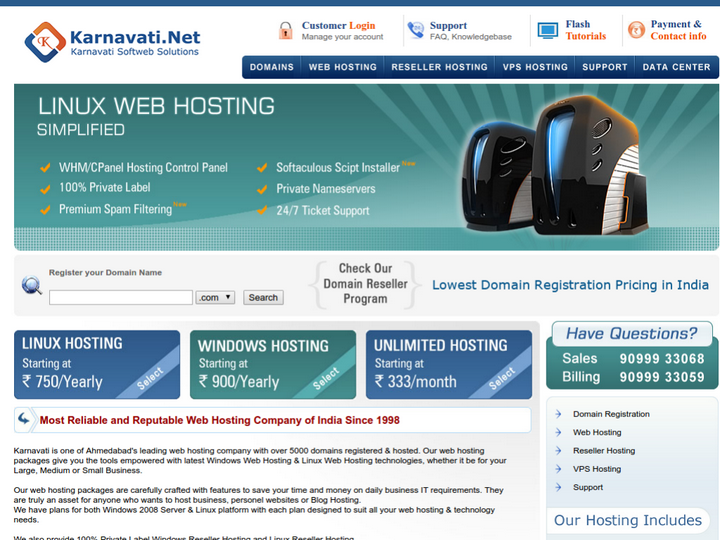 Karnavati Softweb Solutions on 10Hostings