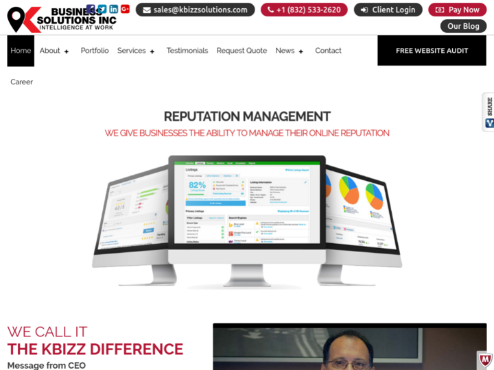 K Business Solutions Inc on 10Hostings